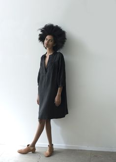 sugarcandymtn.com ж the sabine black linen dress tunic blouse (la robe tunique robe chemisier en lin noir)