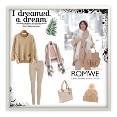 """Romwe 50"" by zerina913 ❤ liked on Polyvore featuring 7 For All Mankind, Loro Piana, Nika and romwe"
