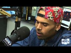 Chris Brown at The Breakfast Club - Power 105.1