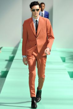 color. Paul Smith Spring 2013 Menswear