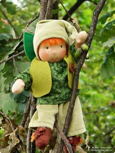 Acorn elf waldorf child by mariaasenova on Etsy