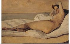 Buy the oil painting reproduction of The Roman Odalisque (Marietta) 1843 by Jean-Baptiste-Camille Corot, Satisfaction Guaranteed, ***** 30 days money-back! The Roman Odalisque (Marietta) 1843 oil painting replica. National Gallery Of Art, Art Gallery, Pierre Auguste Renoir, Almeida Junior, Barbizon School, Gustave Courbet, Jean Baptiste, Expositions, Oil Painting Reproductions