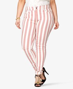 Striped Skinny Jeans -- {pink/white} -- $24.80 -- {size: 16} --  http://www.forever21.com/Product/Product.aspx?br=f21=faith_denim=2034514393=033