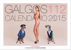 Calendario Solidario 2015 de Galgos 112: Portada. http://informativos.net/lifestyle-y-moda/calendario-solidario-2015-de-galgos-112_54770.aspx