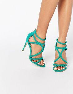 Bild 1 von Public Desire – Gaby – Sandale mit Absatz und Riemchen