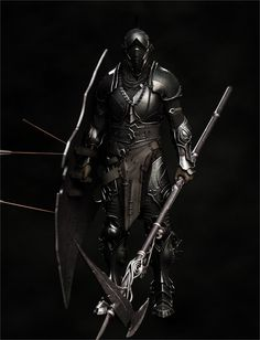 Knight Picture  (3d, character, knight, armor, warrior, fantasy)