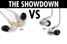 Shure SE215 vs. SE315 | FUN OR CRITICAL?