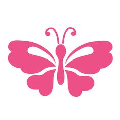 """- butterfly wall stencil - measures 4.5""""w x 3""""h - self-adhesive stencil - just stick and paint - 1 individual butterfly stencil from the Splendid Garden Wall Mural Stencil Kit Full Description Paint a"""