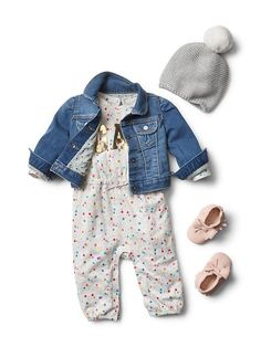Baby Clothing: Baby Girl Clothing: shop by outfit new arrivals | Gap