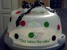 Pinterest Cake Carrier