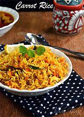 Carrot Rice Recipe by Priti_S, via Flickr