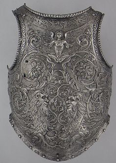 Breastplace, 1540-45, Italian