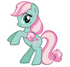 "OMG, Minty! :) She was (and still is) my favorite of the G3 My Little Ponies! Oh I hope the decide to make her a background pony in ""MLP-FIM"" <3"