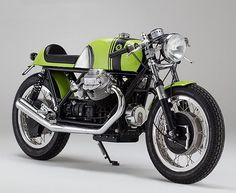 Today on returnofthecaferacers.com - When it comes to building Moto Guzzi cafe racers, Axel Budde at KaffeeMaschine has it all figured out! Visit our website for more details. #Caferacer #motoguzzi #motorcycle #custom #two wheels #Italy #germany