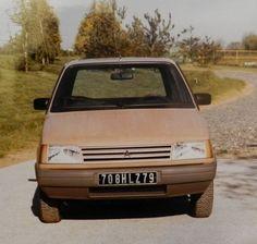 OG | 1981 Citroën Visa Mk2 | Full size mock-up from Heuliez