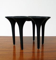 Scandinavian Denmark cast iron candle holder | 20th century Modern online gallery. Featuring a large and varied selection of vintage design and architect furniture. | Shipping worldwide | http://www.furniture-love.com/vintage/objects/