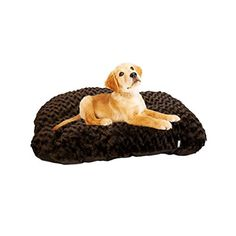 Kole KI-OF795 Cozy Faux Fur Pet Bed, One Size ** To view further, visit now : dog beds