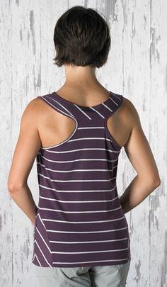 ISIS Moxie Tank: stripes + racerback = irresistible #isischacoadventuregirl