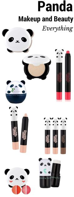 Panda Makeup and Beauty Everything Because Panda's Are Cute