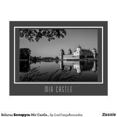 Belarus Беларусь Mir Castle Мирский Замок Открытка Postcard