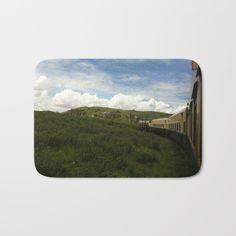 Beautiful train journey landscape bath mat! #traintravel #trains #travel #journey #adventure #wanderlust #photography