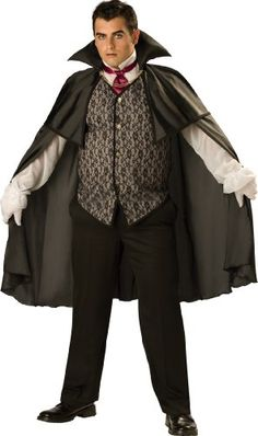 InCharacter Costumes LLC Menu0027s Midnight V&ire Costume Black XXX-Large InCharacter Costumes //.amazon.com/dp/B002RJUR0K/refu003d ...  sc 1 st  Pinterest & Adult Jokeru0027s Wild Skeleton Costume Plus Size - Party City ...