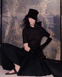 Hannelore Knuts - Yohji Yamamoto Campaign, 1999