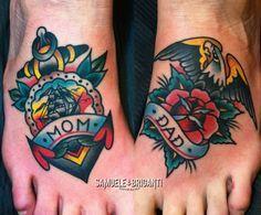 Mom/Dad Tattoo