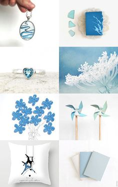 Illuminated by blue by Mary on Etsy--Pinned with TreasuryPin.com