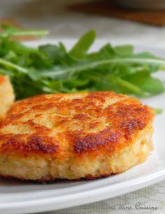 Galettes de saumon, et leur sauce concombre/citron