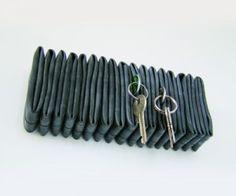 inner tube key hanger