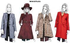 Whistles Fashion, Illustration Mode, Illustrations, Jackson, Raincoat, Fashion Design, Inspiration, Google Search, Layout