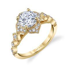 MARS Fine Jewelry: MARS 27070 Engagement Ring 0.22 Ctw.