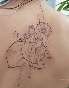 Mae Grandma Tattoos, Mommy Tattoos, Mother Tattoos, Mother Daughter Tattoos, Family Tattoos, Tattoos For Kids, Tattoos For Daughters, Sister Tattoos, Small Tattoos
