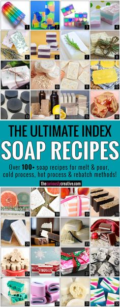 Ultimate-Soap-Recipe-Index