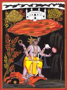 The appearance of Lord Varâha