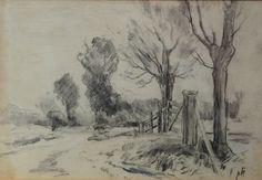 Drawing Piet Mondriaan