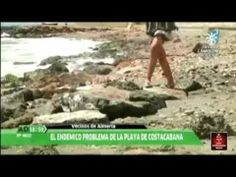 El programa de televisión Andalucía Directo nos muestra el estado de la playa de Costacabana. Emisión 15/05/2014.