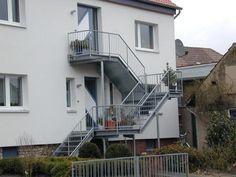 Wendt Schlosserei + Metallbau - Außentreppen
