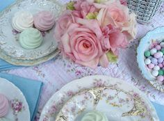 Shabby Chic Picnic by such pretty things, via Flickr