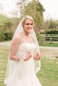 Spring Wedding in North Carolina, Rustic Barn, Farm, Wedding, Burlap, Bridal Session, Vintage, Blush, Coral, Navy, Dress, Veil, Bouquet, Copyright Jennifer Strange Photography
