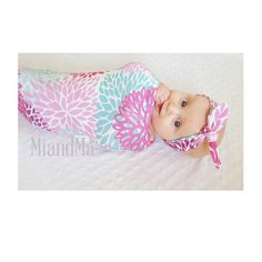 Designer Organic Baby Cosy Sack, sleep sack, Baby Swaddle, baby wrap, Cocoon, Swaddle, Newborn, Blanket, Headband, Topknot headband, Beanie