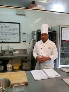 Our chef tutor Damian Peeti