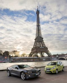The car gets around 2013 Chevrolet Camaro, Dream Cars, Paris Skyline, Tower, Bmw, Building, Travel, Rook, Viajes