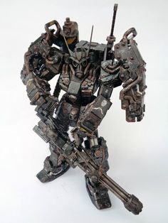 Amazing Musha Gundam Steampunk Custom! Ronin no.7 by Win Eiam-ong. Full Photoreview No.23 Hi Res Images http://www.gunjap.net/site/?p=243947