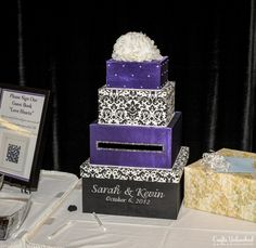 4 tier DIY wedding card box ... Wedding ideas for brides, grooms, parents & planners ... https://itunes.apple.com/us/app/the-gold-wedding-planner/id498112599?ls=1=8 … plus how to organise an entire wedding, without overspending ♥ The Gold Wedding Planner iPhone App ♥
