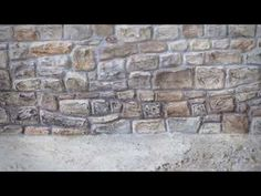 BEST MODEL MAKING TIPS: HOW TO MAKE A STONE BRICK WALL - YouTube