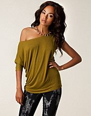 Zoi Top - NLY Trend - Army green - Tops - Clothing - NELLY.COM UK