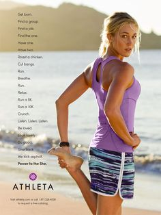 The Spot: Athleta's Celebrates Women Who Want It All With 'Power to the She'   Adweek