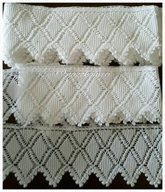 satıldı/sold ##dantel#yataktakımı#elişi#handmade#tığişi#handmadework #needlework #lace#örgü#crochet#stitch #crossstitch #knitting #vintage#vintageshop #vintagestyle #vintagelove #tasarım#evdekorasyon #hom#homesweethome #homedecor #sale#forsale#satilik #fashion#instagood #nazokahveci Crochet Lace Edging, Crochet Stitches, Beauty Hacks That Work, Knitting Patterns, Crochet Patterns, Lace Curtains, Bobbin Lace, Vintage Crochet, Handicraft